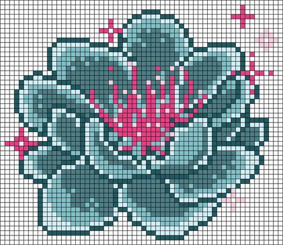 Dites Le Avec Des Fleurs Et En Perles A Repasser Perle A