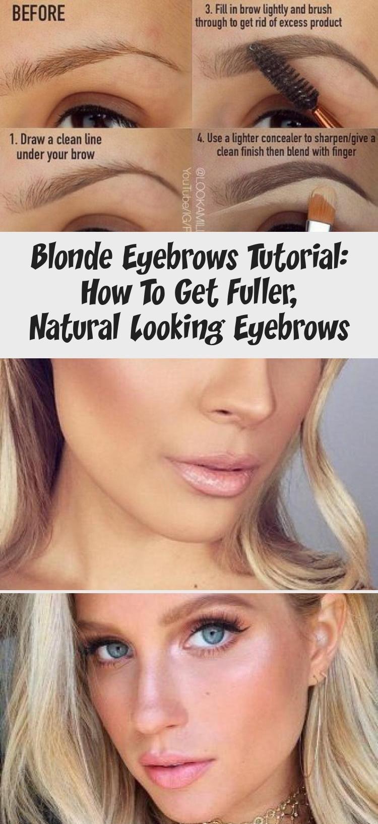 Tutorial Fur Blonde Augenbrauen Wie Man Vollere Naturlichere Augenbrauen Bekommt Augenbrauen Bekommt Blonde Fur In 2020 Eyebrow Tutorial Blonde Eyebrows Eyebrows