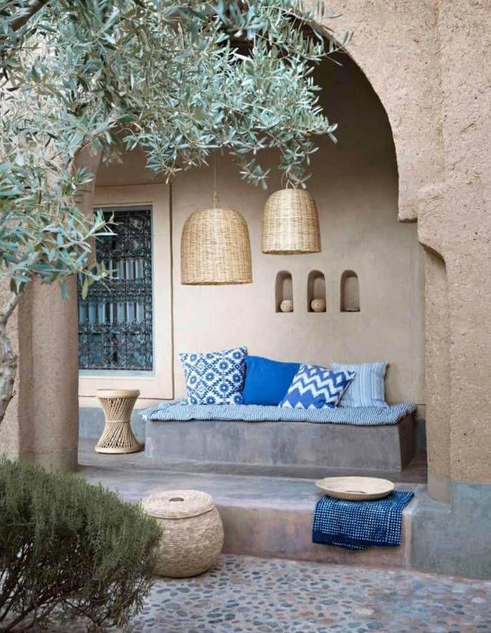 Ces 30 idées déco qu'on pique aux riads marocains - Elle Décoration | Déco maison, Déco ...