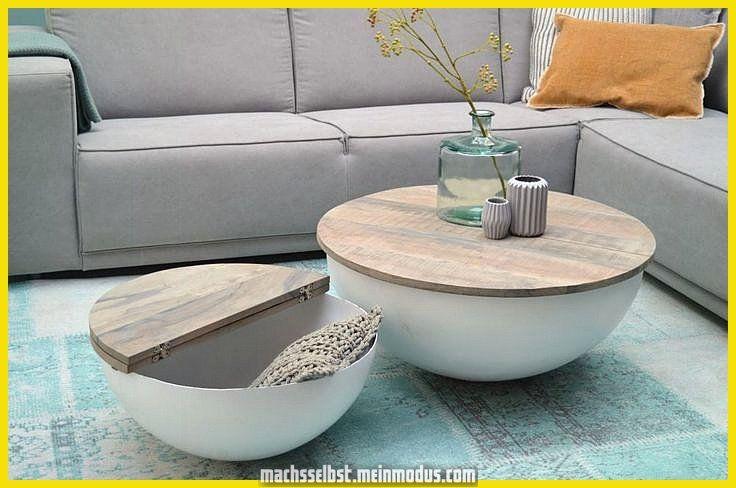 Design Couchtisch Mango Sophie Holz Rund Metall Halbrund Tisch 80x35cm Couchtisch Design Couchtisch Und Couchtisch Stauraum