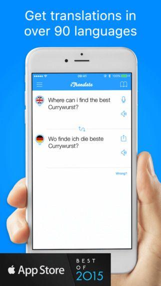 iTranslate free Translator & Dictionary App Translate
