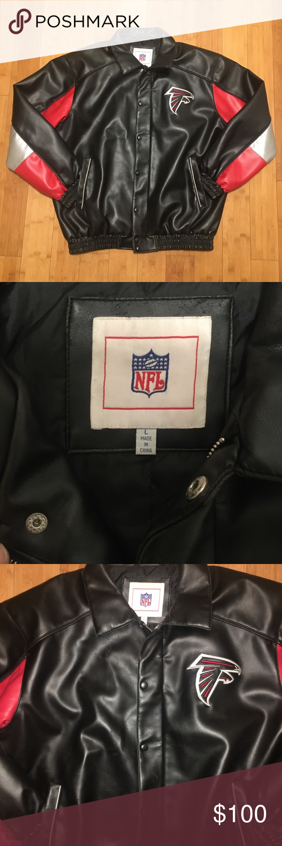 Atlanta Falcons Leather Jacket Leather Jacket Jackets Atlanta Falcons [ 1740 x 580 Pixel ]