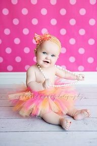 6 month old picture ideas