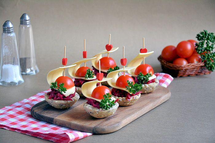 Salate za predjelo za slavu