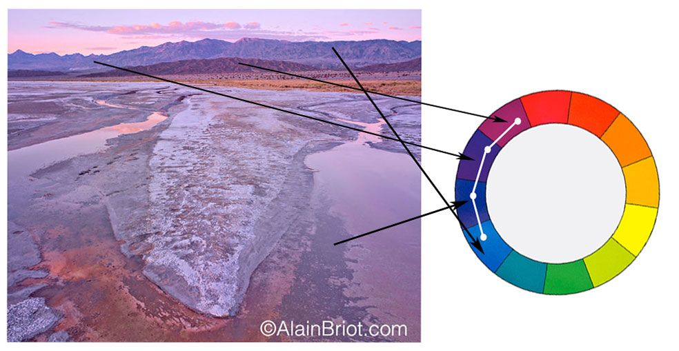 Color Harmonies 3 Analogous And Triadic With Images Nature