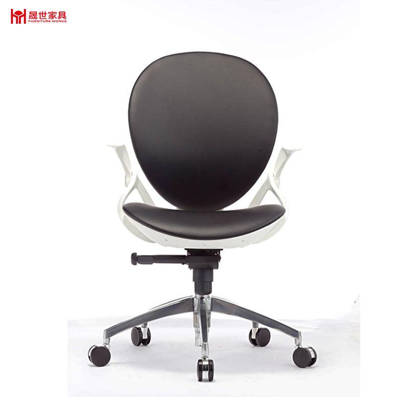 Leisure black leather office chair officechair meshchair