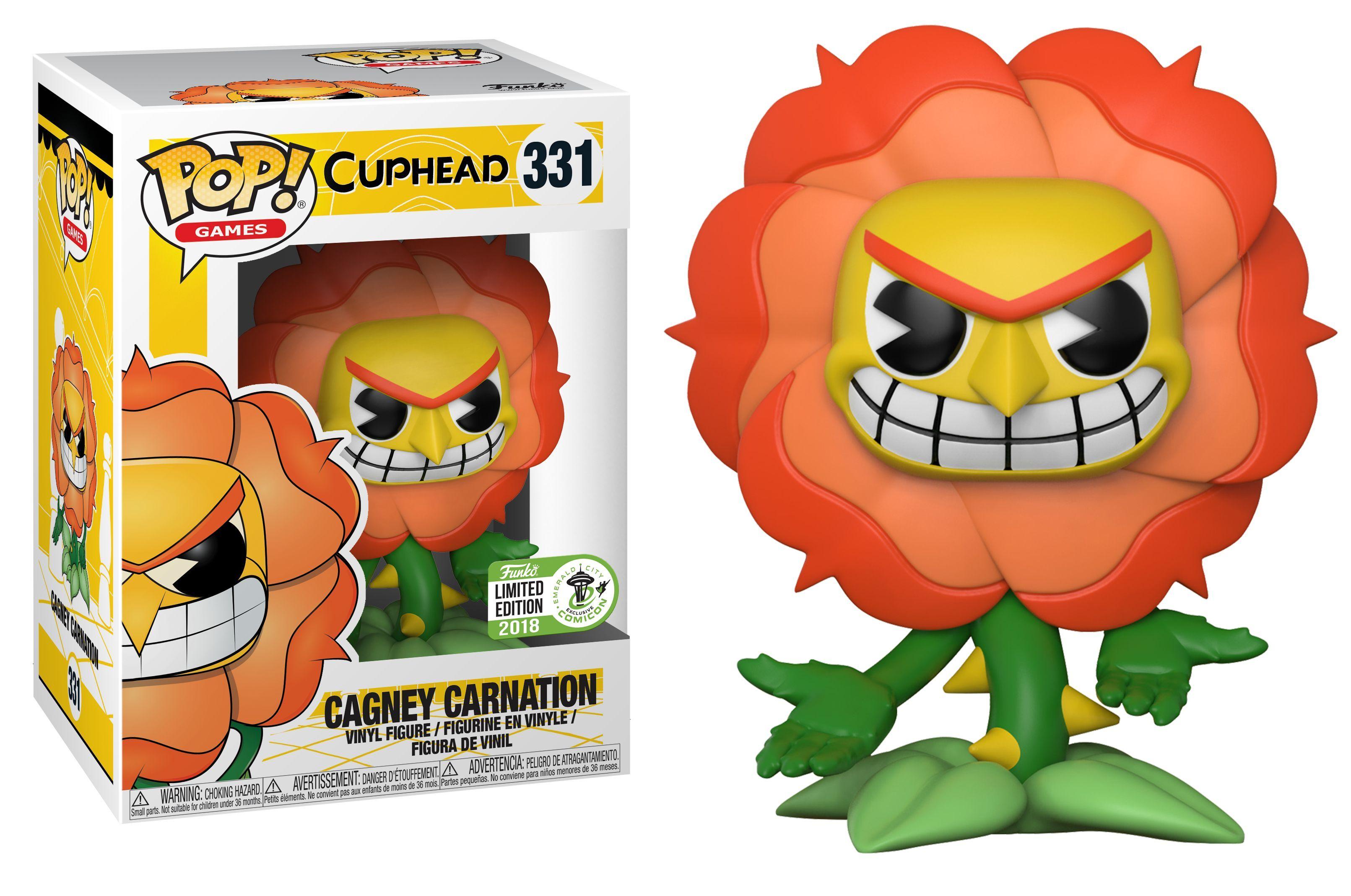 Eccc 2018 Cuphead Cagney Carnation Funko Pop 331 Jpg 3 222 2 136 Pixels Funko Pop Toys Funko Pop Pop Vinyl Figures