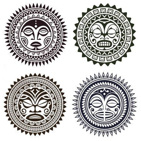 Polynesian Tattoo Designs And Meanings Mt Pinterest Polynesian