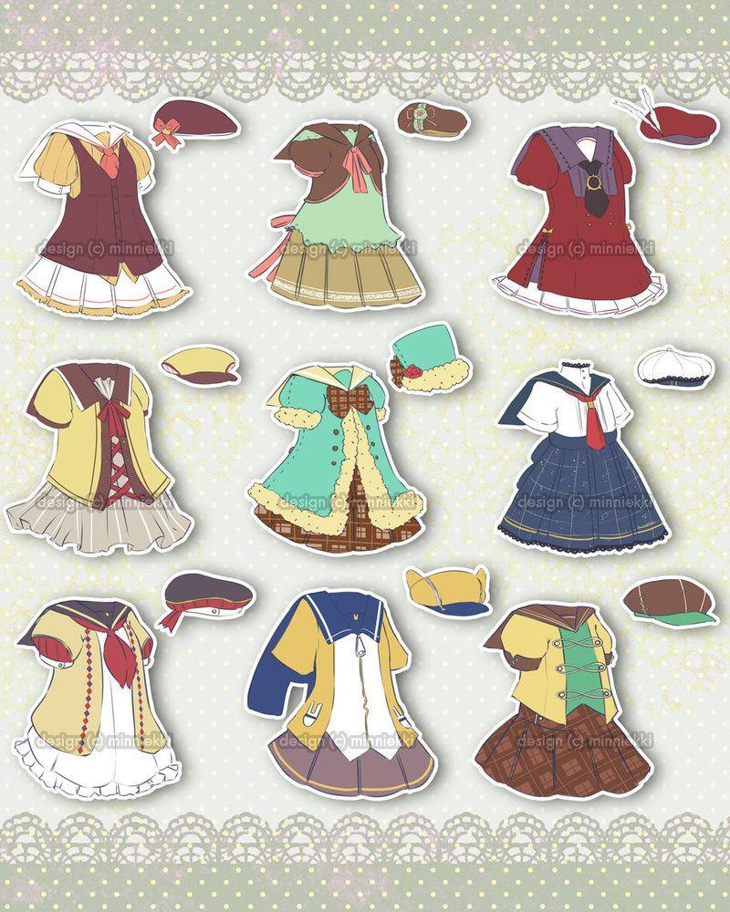 [Closed] Adoptable 16 Seifuku Outfit by minniekki on