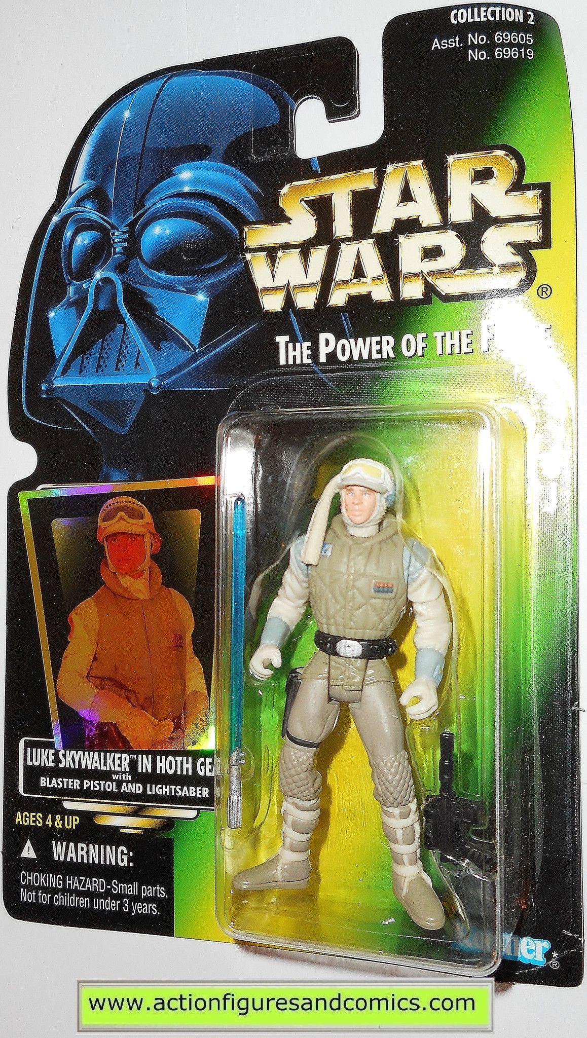 Star Wars Luke Skywalker Hoth Gear Action Figure POTF MOC Kenner Toy Power Force