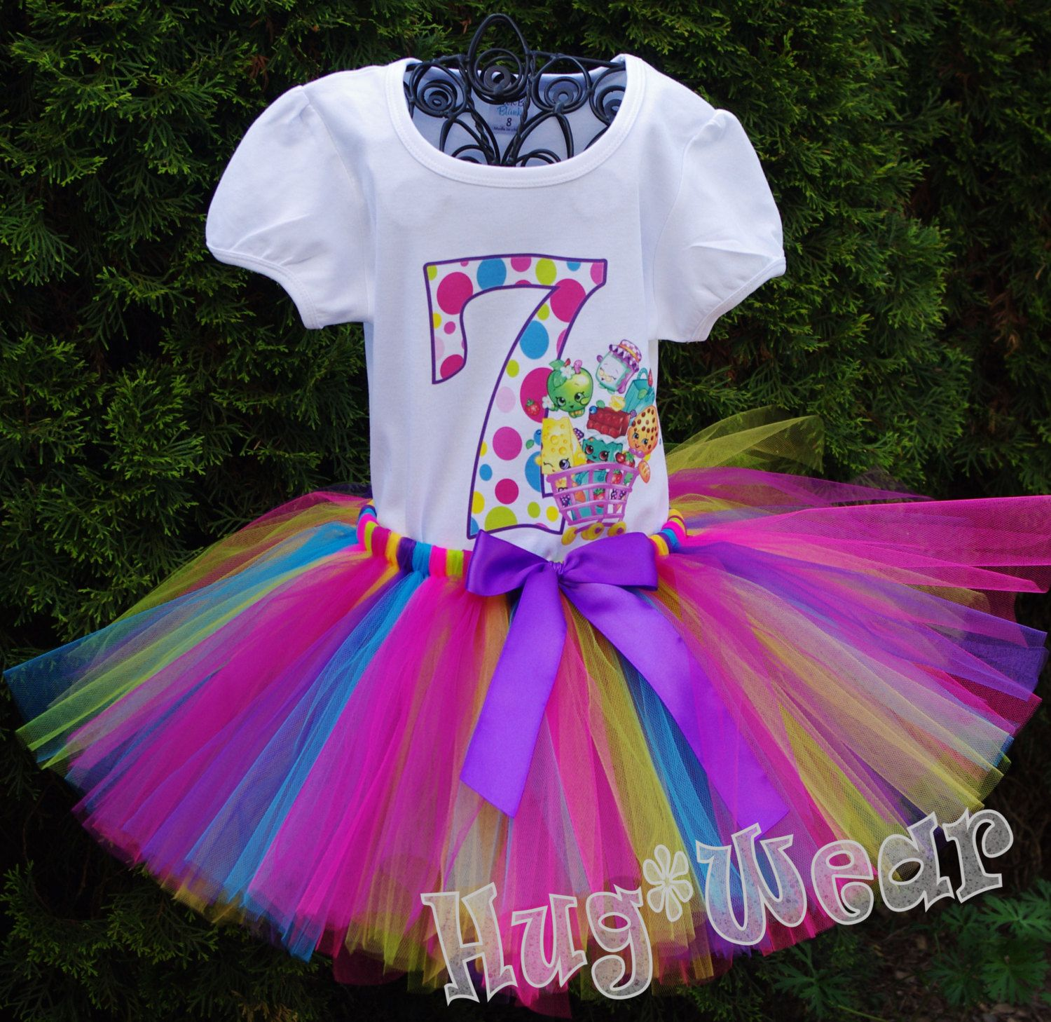 Shopkins Birthday Shirt + Tutu outfit (Any age) | Pinterest | Trajes ...