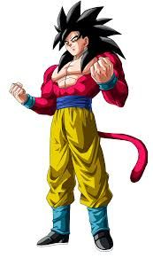 Resultado De Imagem Para Goku Super Sayajin 4 Super Sayajin