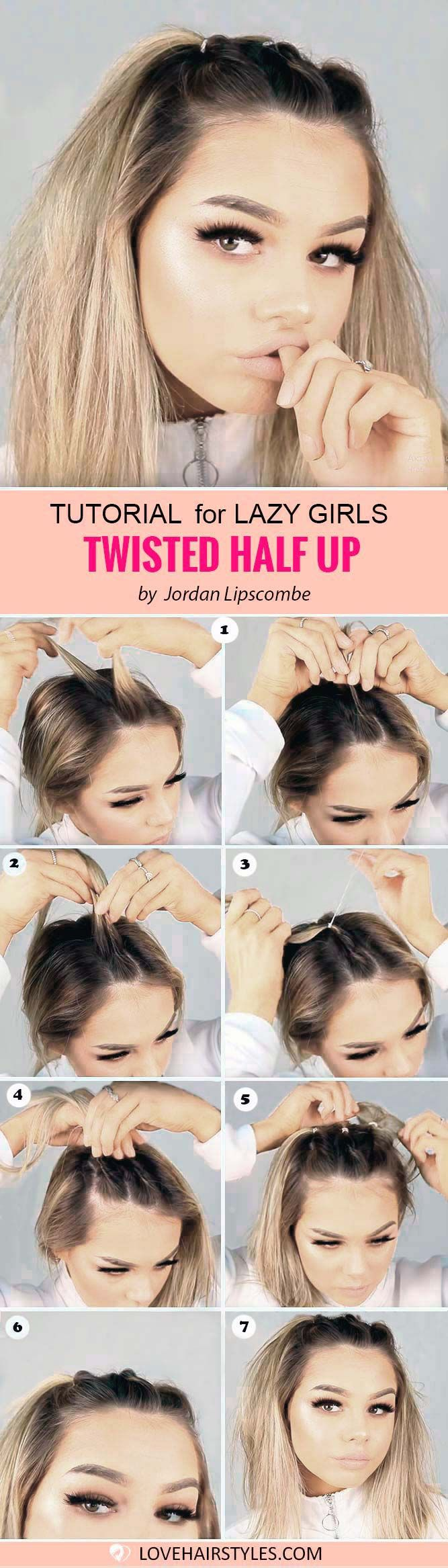 7 Perfectly Easy Hairstyles For Medium Hair Hair Inspiration