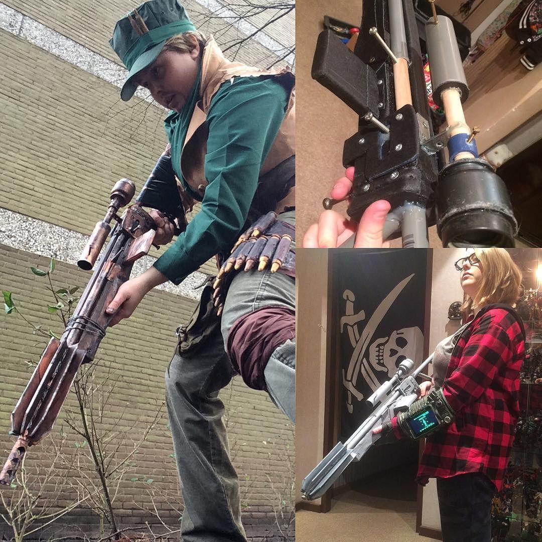 My Marksman Pipe Sniper Rifle Is A Prop I Made Just Before Joining  Instagram So