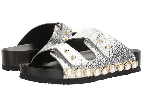 SUECOMMA BONNIE Jewel detailed flat sandals 2JShg