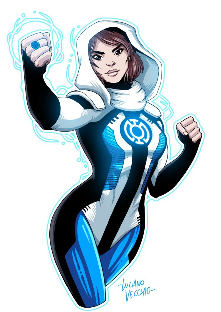 Blue Lantern Lois Lane By Lucianovecchiodeviantartcom On -7680