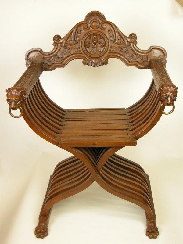 Savonarola Chair Furniture Italian Renaissance In 2019
