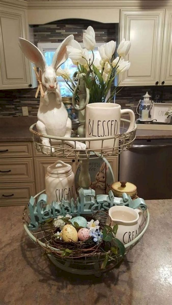 42 Stunning Easter Decorations Ideas 25 Spring Easter Decor Rustic Easter Decor Diy Easter Decorations