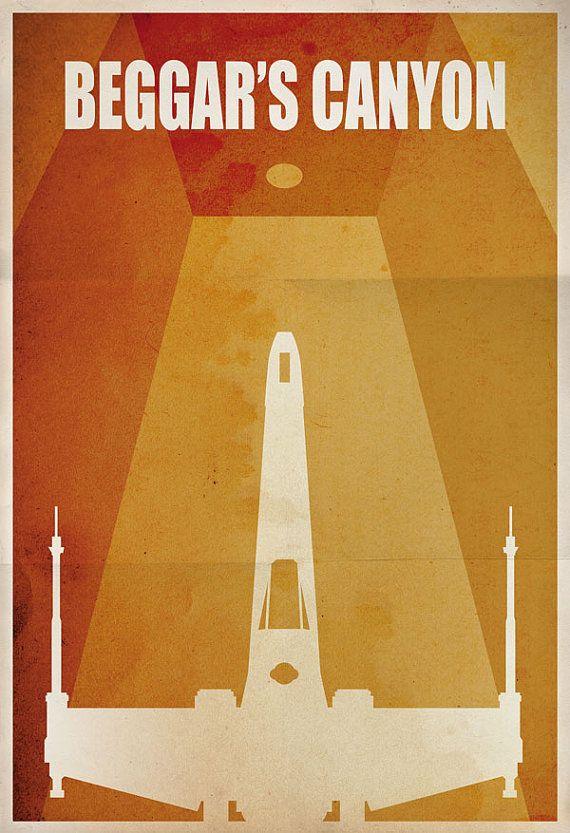 Licensed Star Wars Minimalist X-wing Fighter \
