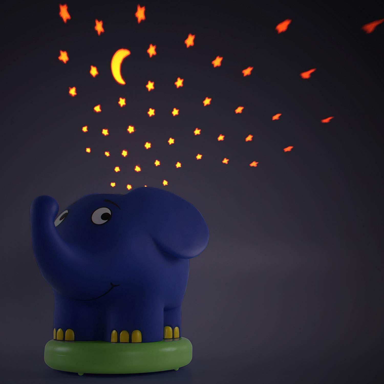 LED Sternenlicht Nachtlicht Einschlafhilfe Baby Lampe Schlummerlicht für Kinder