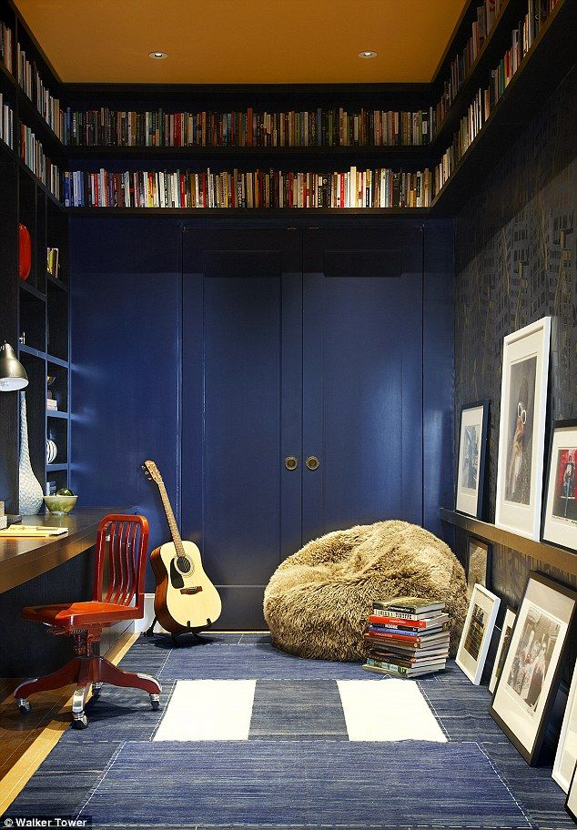 Library Room Ideas For Small Spaces: Pin On Study Inspiration