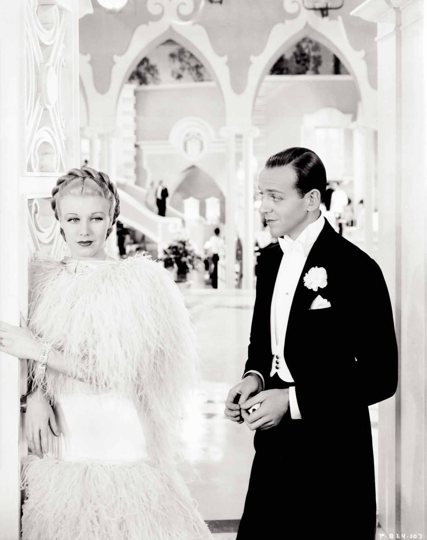 Top Hat 1935 Fred astaire, Fred and ginger, Ginger rogers