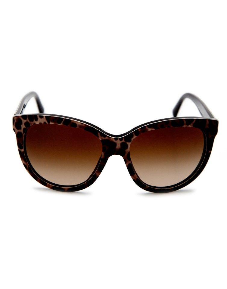 aca826a02cb5 Dolce and Gabbana Leopard Brown Sunglasses