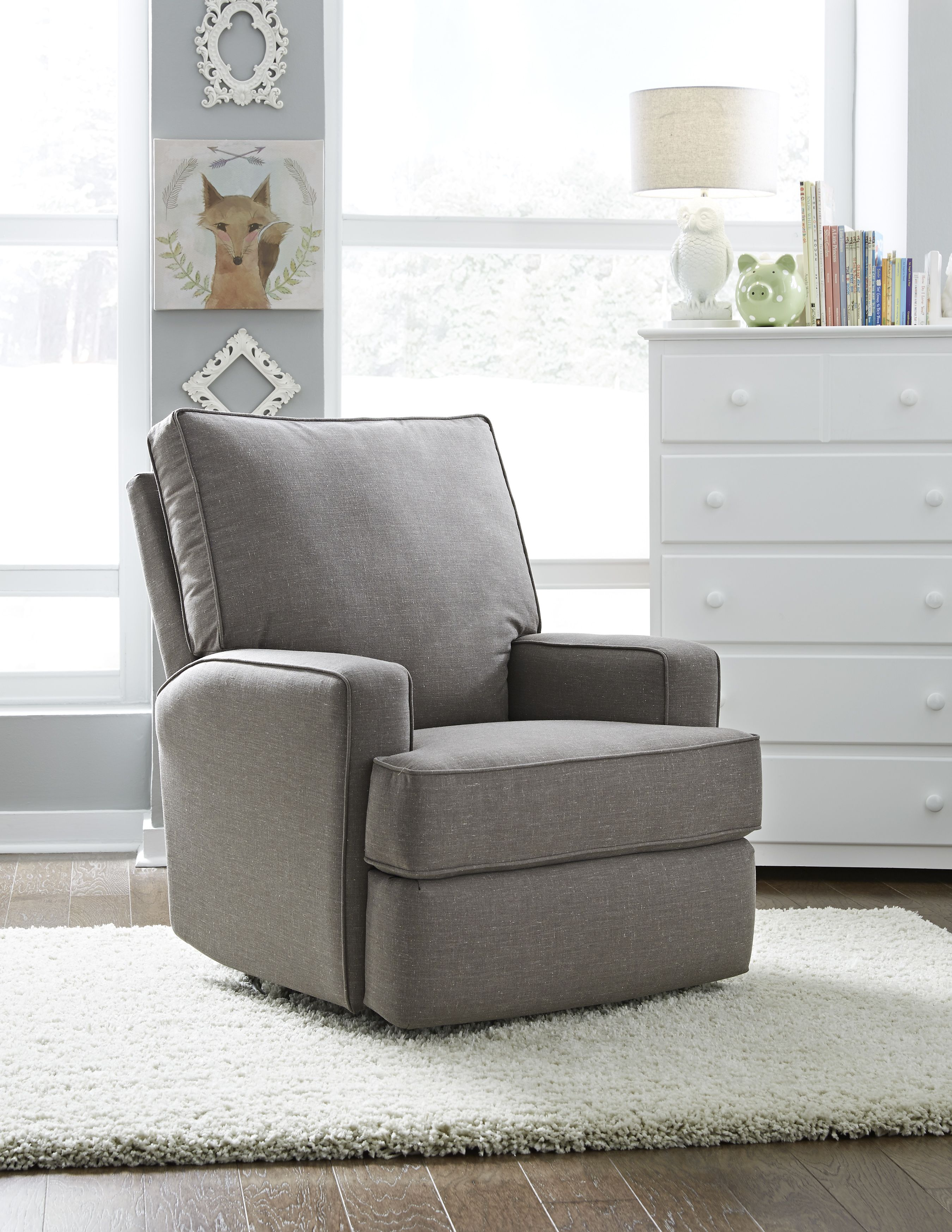 Kersey Swivel Glider Recliner By Best Chairs Storytime Series