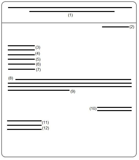 business letter carbon copy line format with enclosures and cover - copy letter enclosures example
