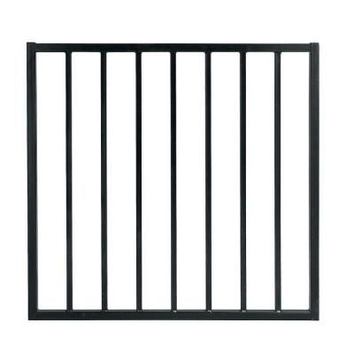 First Alert 44 In X 39 Steel Black Fence Premium Grade Single Panel Walk Through Gate G3ghdg39x44 At The Home Depot 72