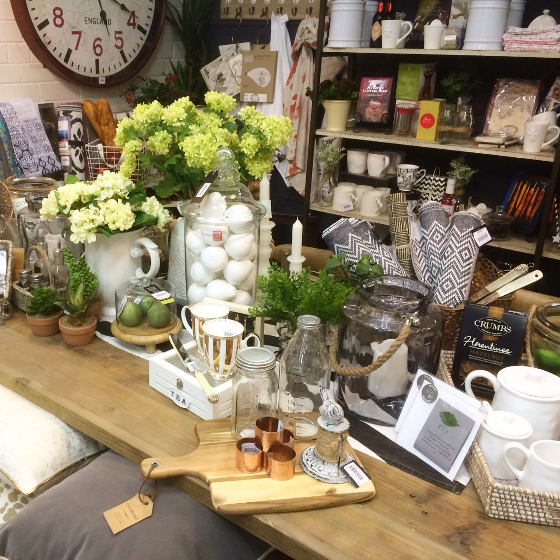 Kitchen Table Display At Our Shop In Lilydale Vic Visual
