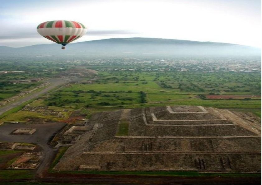 From Mexico City: Balloon Ride Over Teotihuacan Day Tour