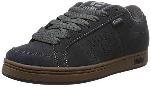 Etnies Kingpin, Mens Skateboarding Shoes, Grau (023 , Dark Grey/Black/Gum), 8 UK Introducing the Etnies Kingpin Shoes from Etnies. (Barcode EAN = 0889262221428). http://www.comparestoreprices.co.uk/december-2016-6/etnies-kingpin-mens-skateboarding-shoes-grau-023--dark-grey-black-gum--8-uk.asp