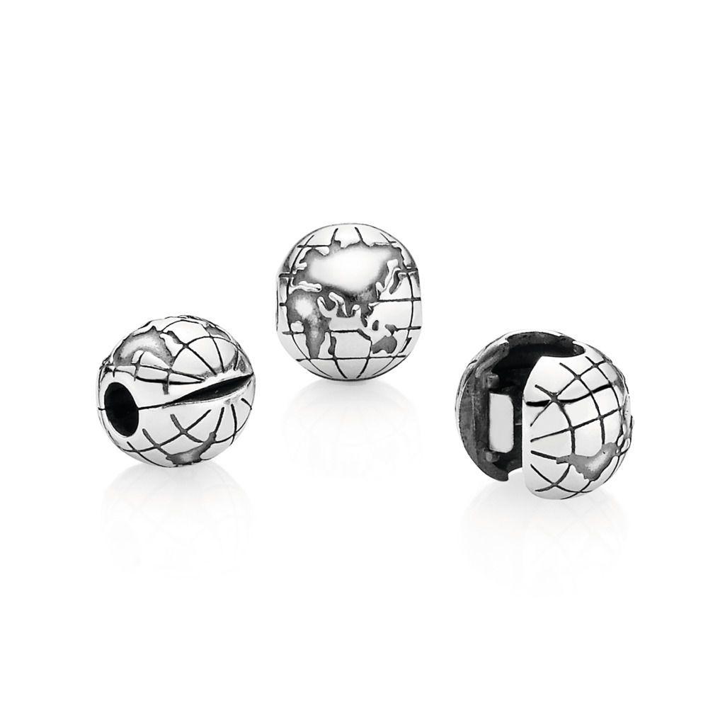 Globe Clip Shop Pandora Nl Pandora Jewelry Sterling Silver Pendants Pandora Charms Cheap