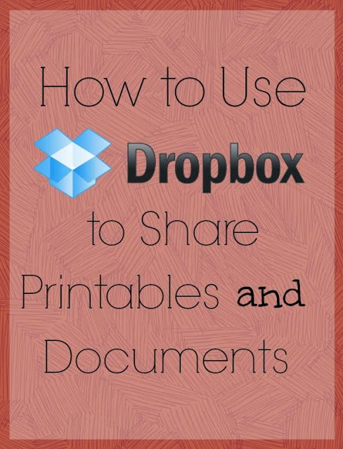Step By Step Instructions Showing How To Use Dropbox To Share Files