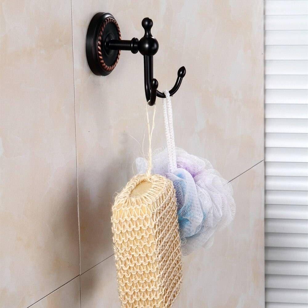 Robe Hooks Antique Brass Coat Hook Clothes Towel Hangers Storage Door Hook Wall Bathroom Accessories Black Bath Rack In 2020 Luxury Home Decor Hanger Storage Decor Buy