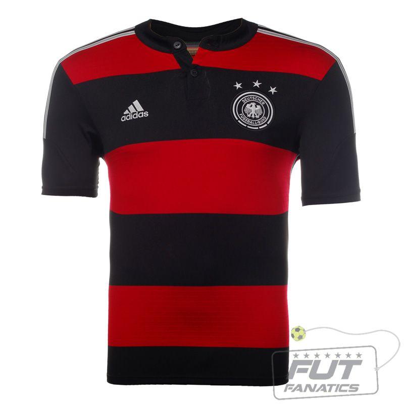a1157d062e4d7 Camisa Adidas Alemanha Away 2014 - Fut Fanatics - Compre Camisas de Futebol  Originais Dos Melhores Times do Brasil e Europa - Futfanatics