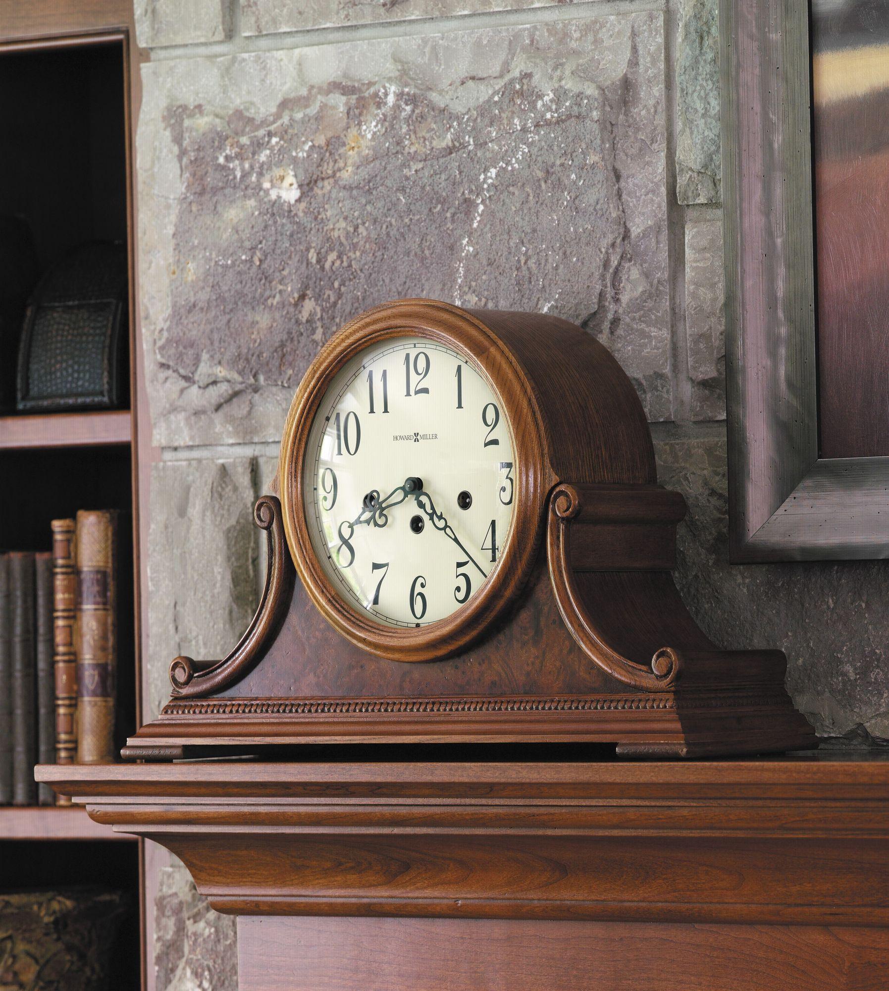 Hadley Key Wound Mantel Clock Hp Antique Clocks