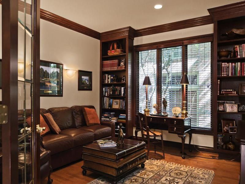 Cozy Home Office cozy office den | got to be cozy (home libraries) | pinterest