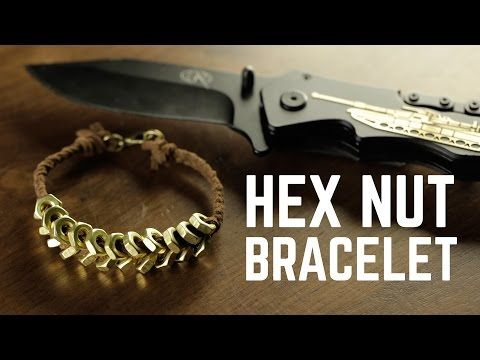 Diy projects hex nut bracelet youtube projectdo it yourself diy projects hex nut bracelet youtube solutioingenieria Choice Image