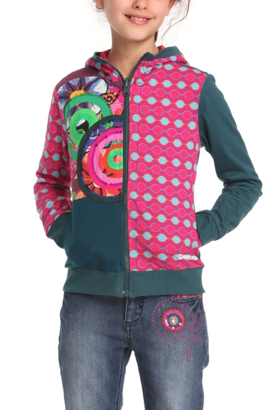 9ea56c0a7ed7 Desigual Girls Sweater