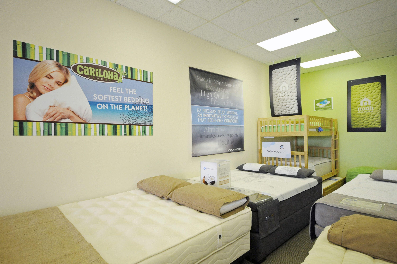 The Organic Bedroom Displaying Wj Southard S Archetype Spring Mattress