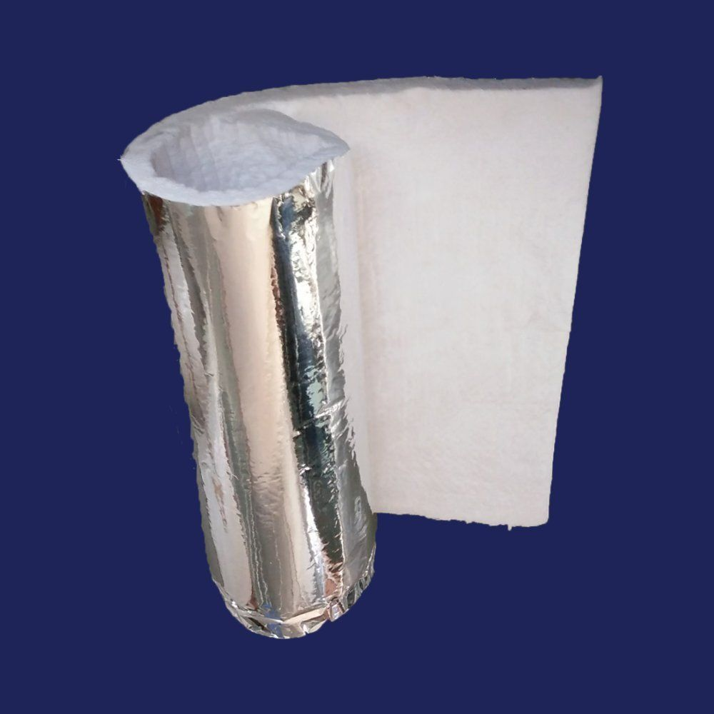 1 2 Aluminium Foil Faced Ceramic Fiber Blanket Insulation 6 2300f 24 X 6 You Can Find More Details B Ceramic Fiber Blanket Ceramic Fiber Blanket Insulation