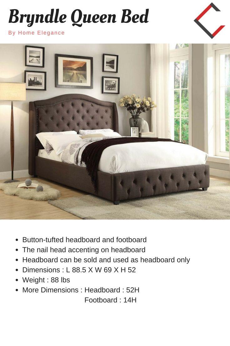 Home elegance bryndle queen bed queen beds and queens