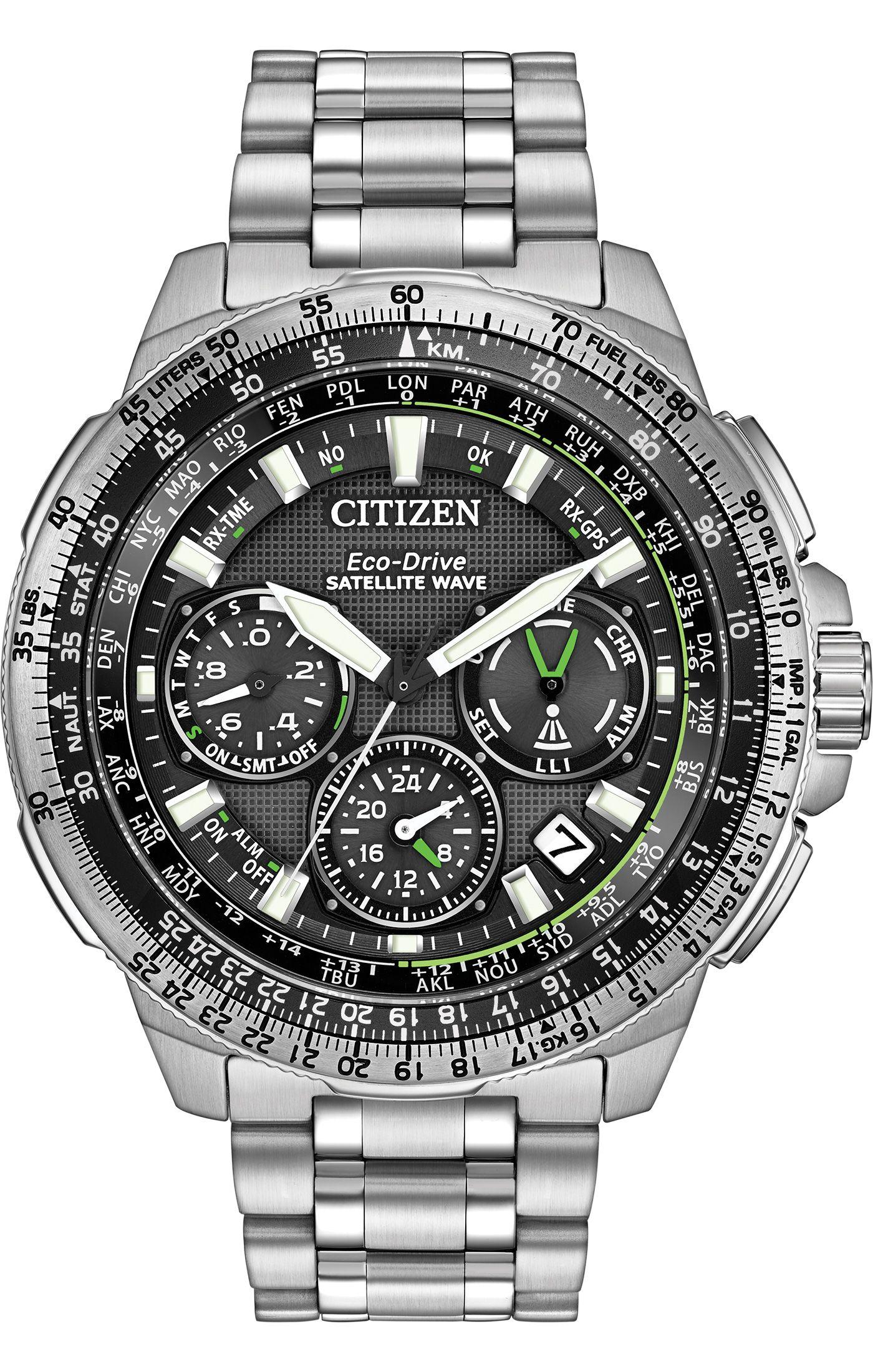 Citizen Eco Drive Promaster Navihawk Gps Cc9030 51e Satellite Wave