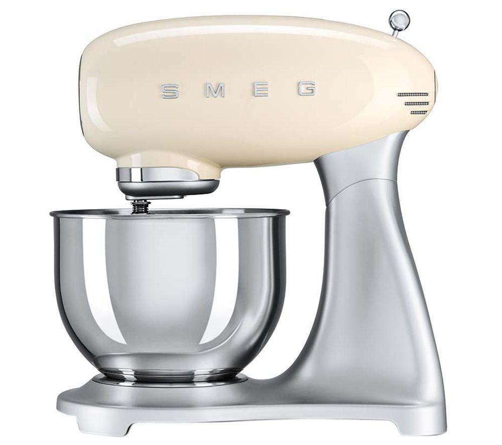 SMEG SMF01CRUK 50\'s Retro Stand Mixer - Cream   02.05_Kitchen ...