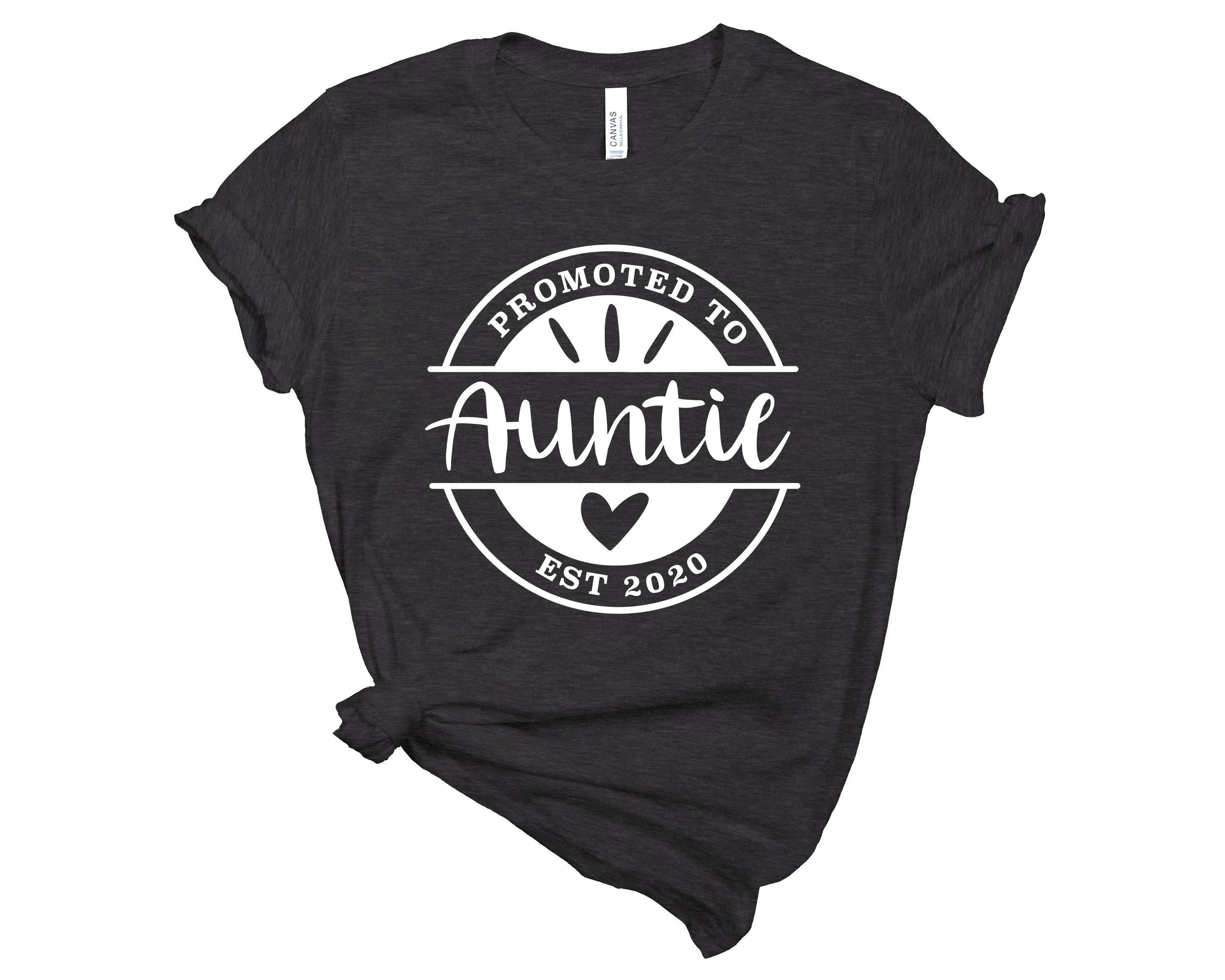 Auntie T-Shirt | AuntieSaurus Shirt | Promoted to Auntie Shirt | Aunt Shirt | Best Aunt Ever | Aunt Tourage | Aunt Gift | Gift for Aunt