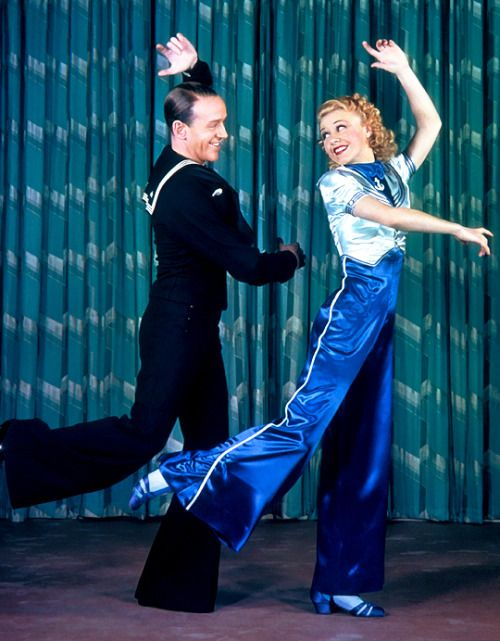 Fred Astaire and Ginger Rogers by James Doolittle Follow the Fleet (1936)
