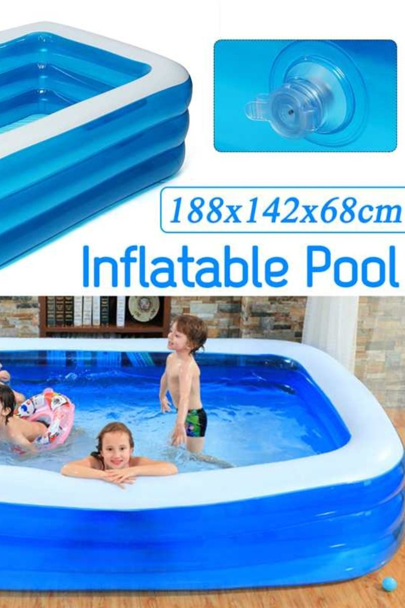 65 For Inflatable Square Swimming Pool For Kids Home Use Paddling Pool Large Size Swimming Pools Kid Pool Kids House