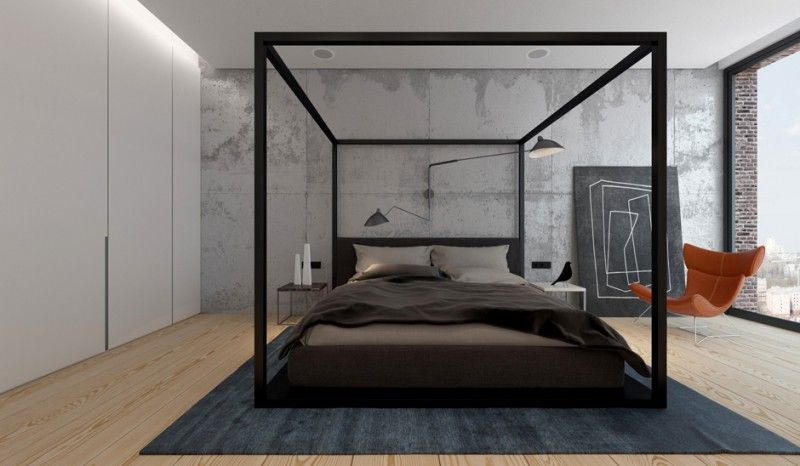 20 Modern Canopy Bed Ideas For Your Bedroom Modern Canopy Bed